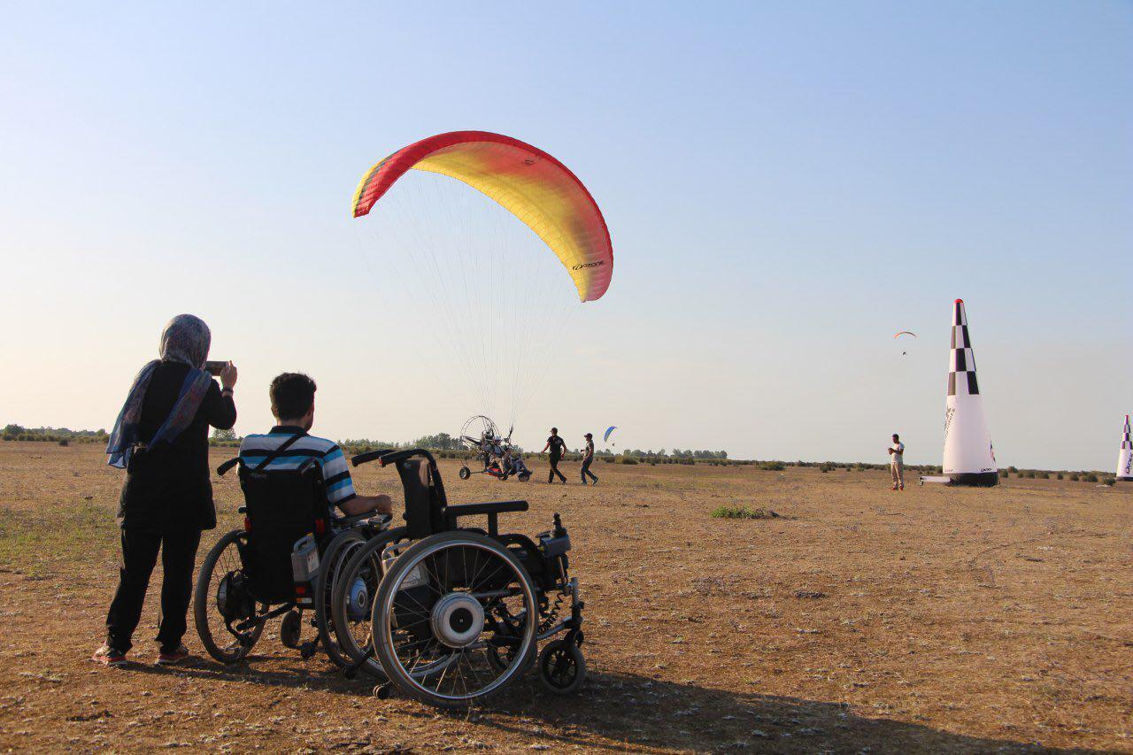 پرواز معلولین