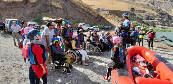 رفتینگ گروه ماجراجویان معلول ایرانی